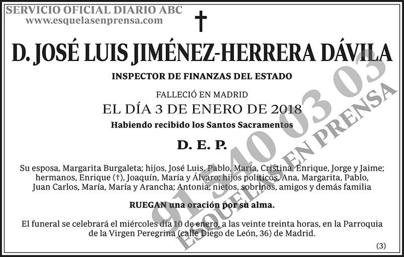 José Luis Jiménez-Herrera Dávila